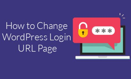 How to Change WordPress Login URL Page?
