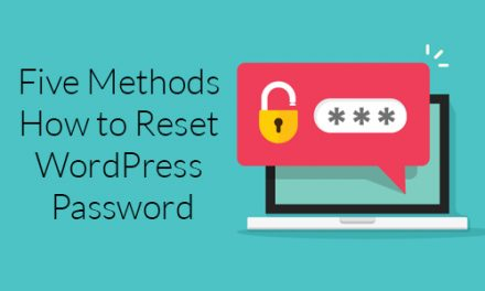How to Reset WordPress Password?