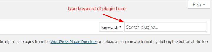 install plugin on wordpress