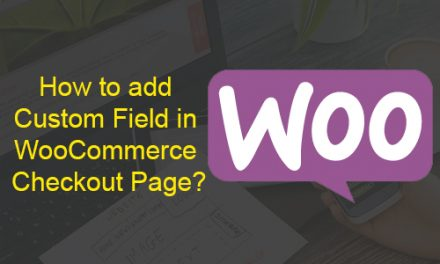 How to add Custom Field in WooCommerce Checkout Page