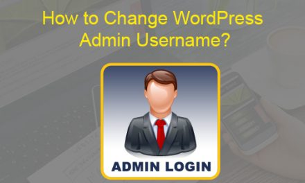 How to Change WordPress Admin Username?