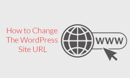 How to Change The WordPress Site URL?