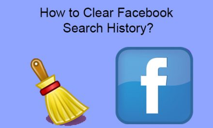 How to Clear Facebook Search History?