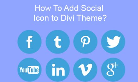 How To Add Social Icon to Divi Theme