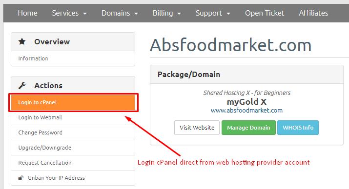 database not showing in phpmyadmin