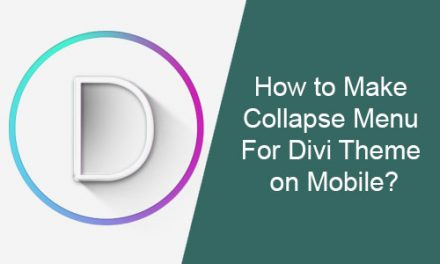 How to Make Collapse Menu For Divi Theme on Mobile?