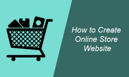 How to Create Online Store Website