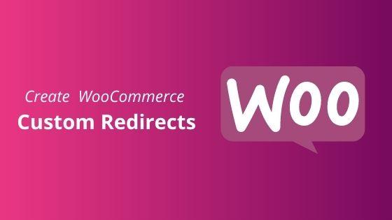 woocommerce custom redirects
