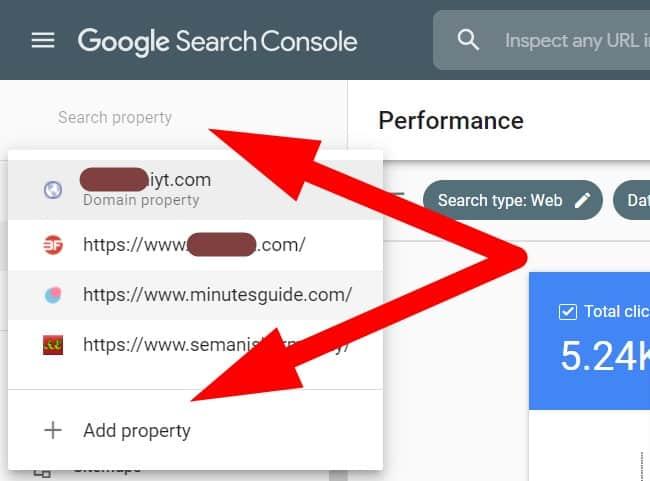 add google search console