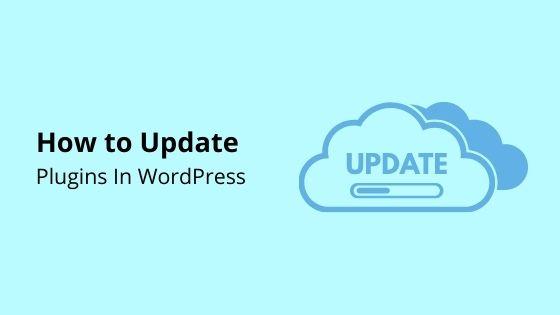 update wordpress plugin